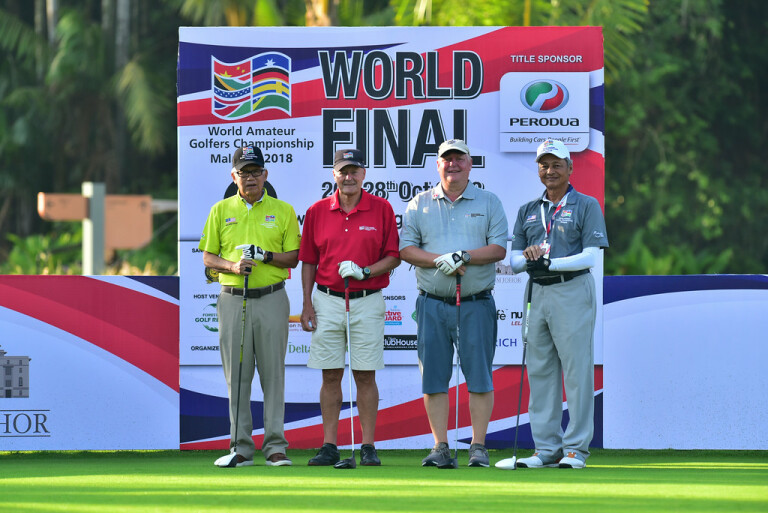 JOHOR, MALAYSIA- OCTOBER 23: Pictured during round one of the World Amateur Golfers Championship (WAGC), World Final, at the Forest City Golf Hotel on October 23, 2018 in JOHOR,  MALAYSIA . (Photo by Masuti / WAGC )
