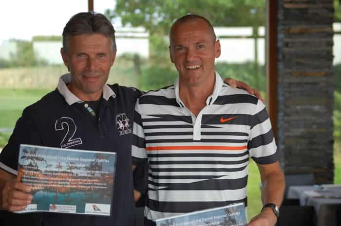 Erik og Michael repræsenterede DK i WGC i 2012